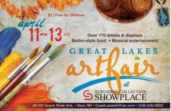 Great Lakes Art Fair in Novi Michigan