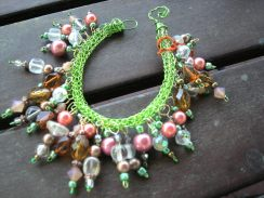 viking knit, with bling beads (cha cha)